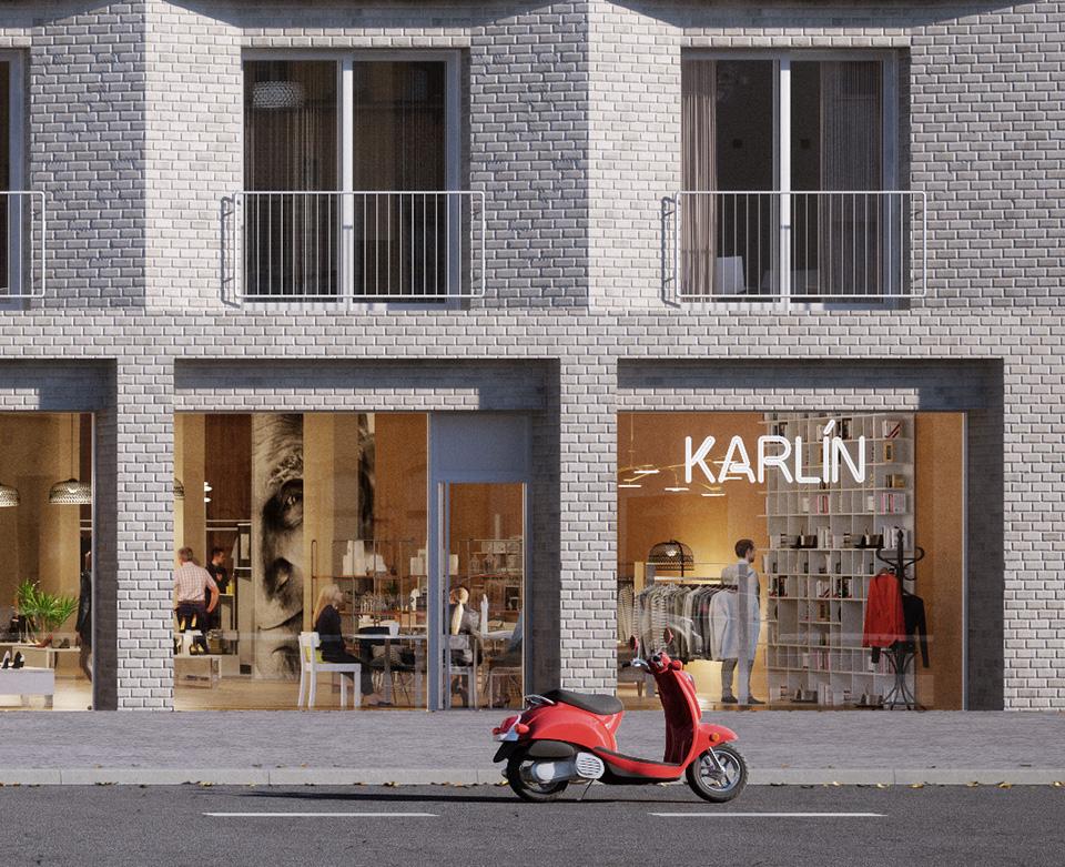 Nejatraktivnější obchodní plochy v Karlíně